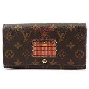 Auth Louis Vuitton Sarah Wallet #2362L18